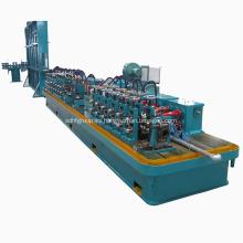 Máquina formadora de rollos de tubos de acero de soldadura de alta frecuencia