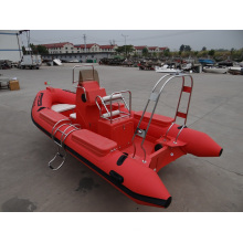 Inflatable Rescue Rib Boat Heavy Load Fiberglass 5.2m
