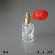 Botella de vidrio de 10 ml, botella de perfume con globo