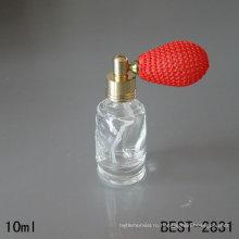 10 мл стеклянная бутылка, бутылка дух с скалозубом