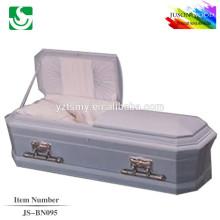 JS-BN095 good quality blue color caskets supplier