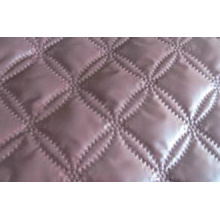 Ultrasonic quilting Polyester Microfiber solid bedspreads Queen