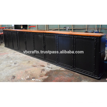 Metal Riveted schwerer Bar Counter