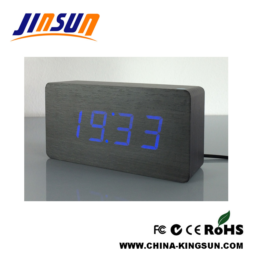 Square Led Clock