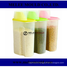 Plastic Mould for Storage Jar Organization with Spout