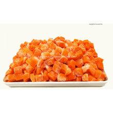 2016 Crop cubitos de zanahoria congelados