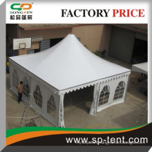 pagoda party tent 8mx8m for 40 persons comfortable gathering