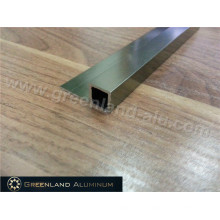 Matt Gold Square Box Tile Trim