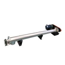 Adjustable height small grain auger screw conveyor