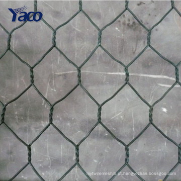 Chinês anping 3.05mm 3.2mm 80 * 60 barreira soldada gabion box