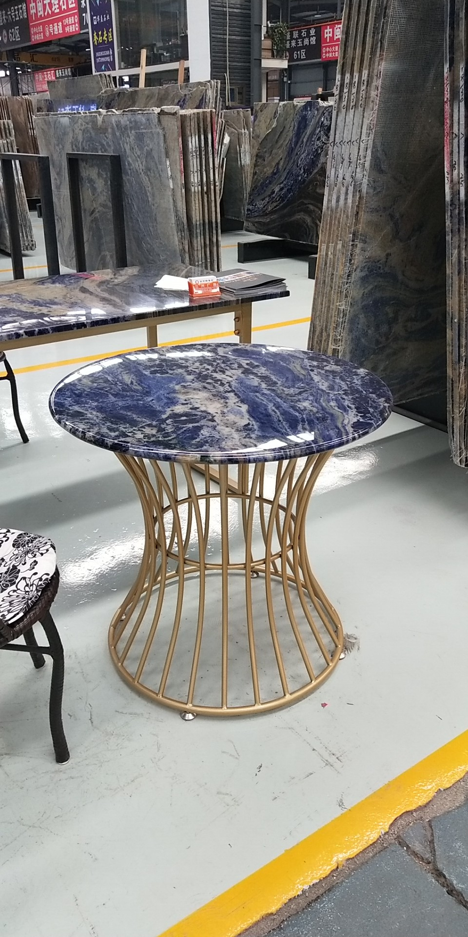 Blue Sodalite Stone Table 3