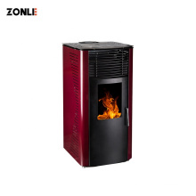Cast Iron Wood Pellet Stove Home Heater Fire Place for Indoor use