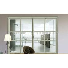 Grill design door, aluminum glass door, room dividers door