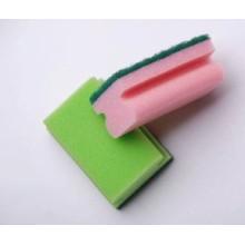 Produits d'hétéro-morphologie pour éponge propre
