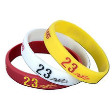Wholesale Cheap Silicone Number Wristband for Adult