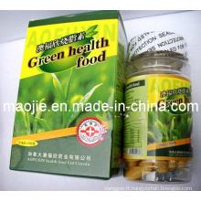 Capsule de perte de poids de la combustion des graisses vert