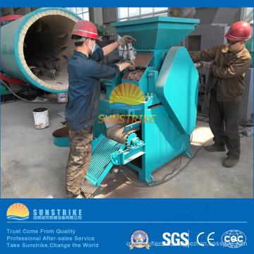 Machine de fabrication de briquettes de poudre minérale