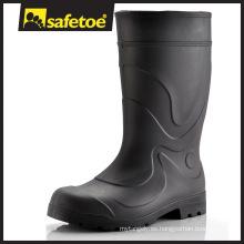 Botas de lluvia de alta calidad, botas de tacón alto, botas altas de rodilla W-6041