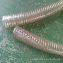 Plastik PVC-Stahldraht verstärkte Schlauch- / Rohr-Verdrängungs-Maschinen-Linie