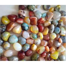 Piedra de ónix de belleza natural / piedra de ágata pulida