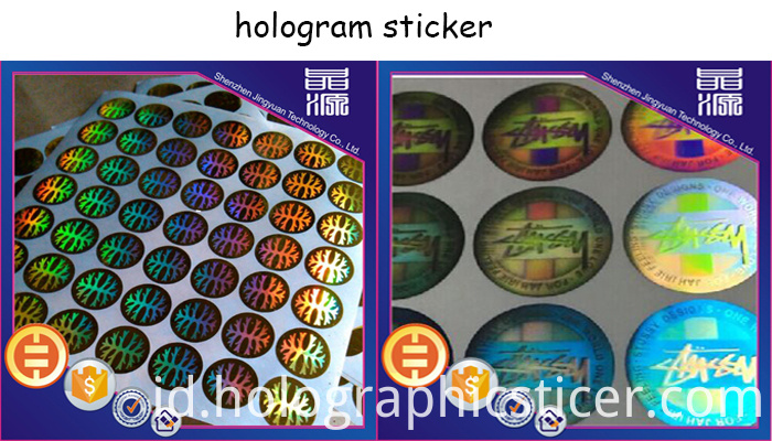 PET Anti-fake Laser Hologram Label Seal