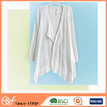 Custom Long Sweater Knitwear White Cardigan Sweater For Women