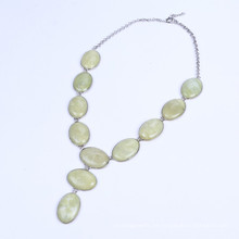 Big Stone Bead Landing Halskette