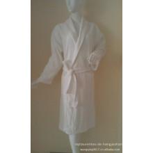 Unisex Baumwolle / Polyester Waffel Bademantel für Hotel