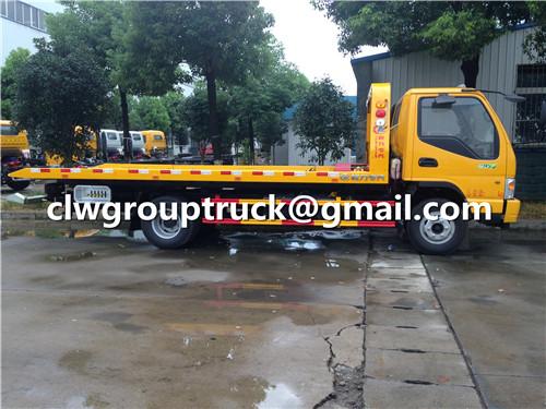 Flatbed Wrecker Truck_2