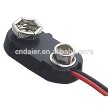 DCK2 I Type Plastic Battery Clip With 150mm Wire Leads 9v