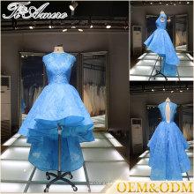 2017 discount femmes de mariage robes de demoiselle d'honneur en soirée bleue