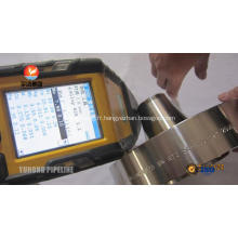 Bride en acier Inconel 625 ASTM B564 UNS U06625