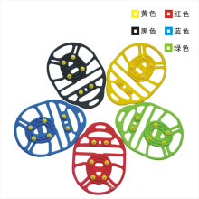 New Design 6 Teeth Non-Slip Silicone Crampons for Snow and Rain Weather