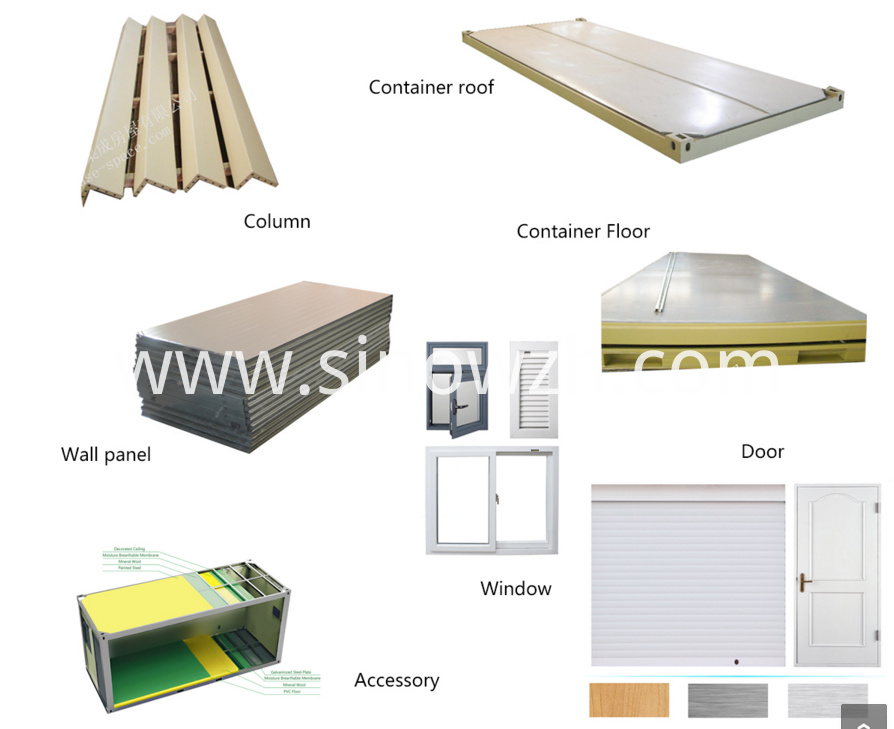 container house material list