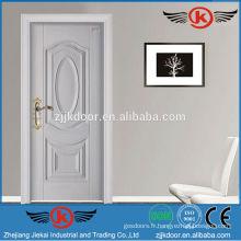 JK-SW9202 chaud nouvelle conception décorative portes intérieures en bois massif utilisées