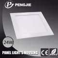 Die Casting ADC12 Aluminum 24W LED Ceiling Light Housing (Square)