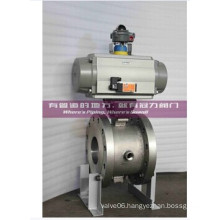 Pneumatic Jacket Segment Ball Valve