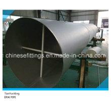 Tuberías de acero inoxidable dúplex Dn800 Uns31803 ERW