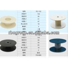 PC rouleaux/bobines de fils et câbles (canette en plastique vide)