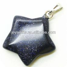 Полудрагоценный камень из голубой каменной звезды с высоким качеством