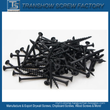 3.5X35 C1022 Steel Hardend Phosphated Black Drywall Screws