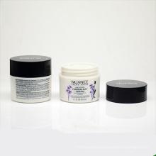 50g / 1.6oz utilisent le pot d'emballage de crème de corps de PETG d'utilisation de soin personnel
