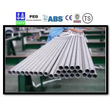 Tubes en acier inoxydable sans soudure de Super Duplex Uns S32750 S32760 S31803 S32250 904L