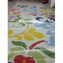 Glass Mosaic Pattern Wall Tile (HMP831)