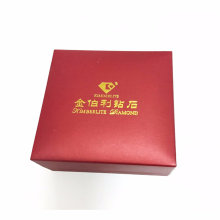 Custom Jewelry Gift Packaging Box with Hot Stamping
