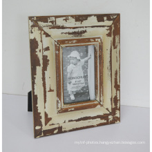 Distressed Wooden Photo Frame Fro Home Deco