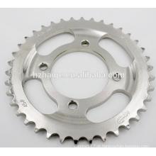 Usinagem de precisão peças de engrenagem de carro de motocicleta de liga de alumínio