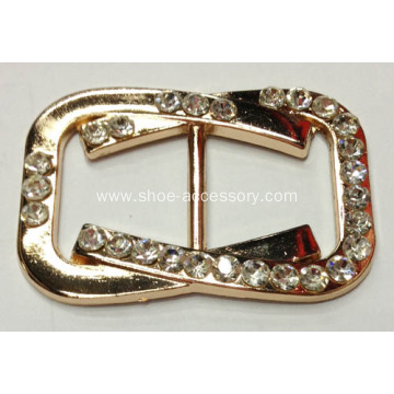Fashion Alloy Rhinestone lady Shoe Buckle