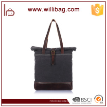 Vintage Durable Canvas Shoulder Bag, Fashion Handbag 2016