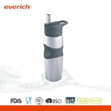 Botella ecológica de la bebida del café de la alta calidad con la paja